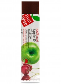 Fruit Wise Apple & Cherry Fruit Straps 100% Fruit Sugar Free