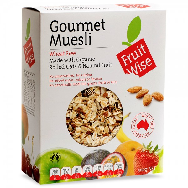 Fruit Wise Gourmet Muesli
