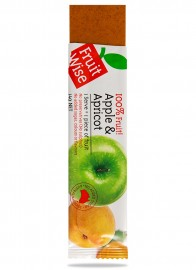 Fruit Wise Apple & Apricot Fruit Straps 100% Fruit Sugar Free