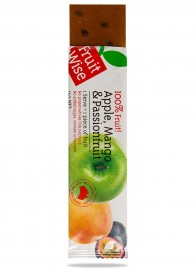 Fruit Wise Apple, Mango & Passionfruit Fruit Straps 100% Fruit Sugar Free