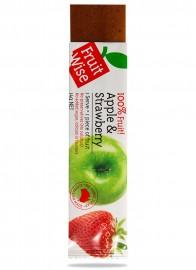 Fruit Wise Apple & Strawberry Fruit Straps 100% Fruit Sugar Free
