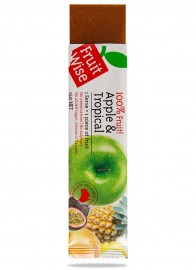 Fruit Wise Apple & Tropical Fruit Straps 100% Fruit Sugar Free