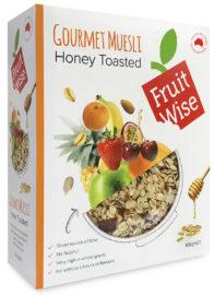 Fruit Wise Gourmet Honey Toasted Muesli