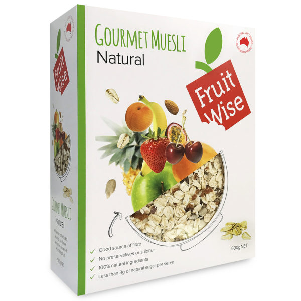 Fruit Wise Gourmet Natural Muesli